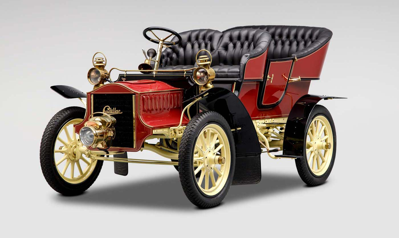 1905 Cadillac Model F Touring - The JBS Collection Blog