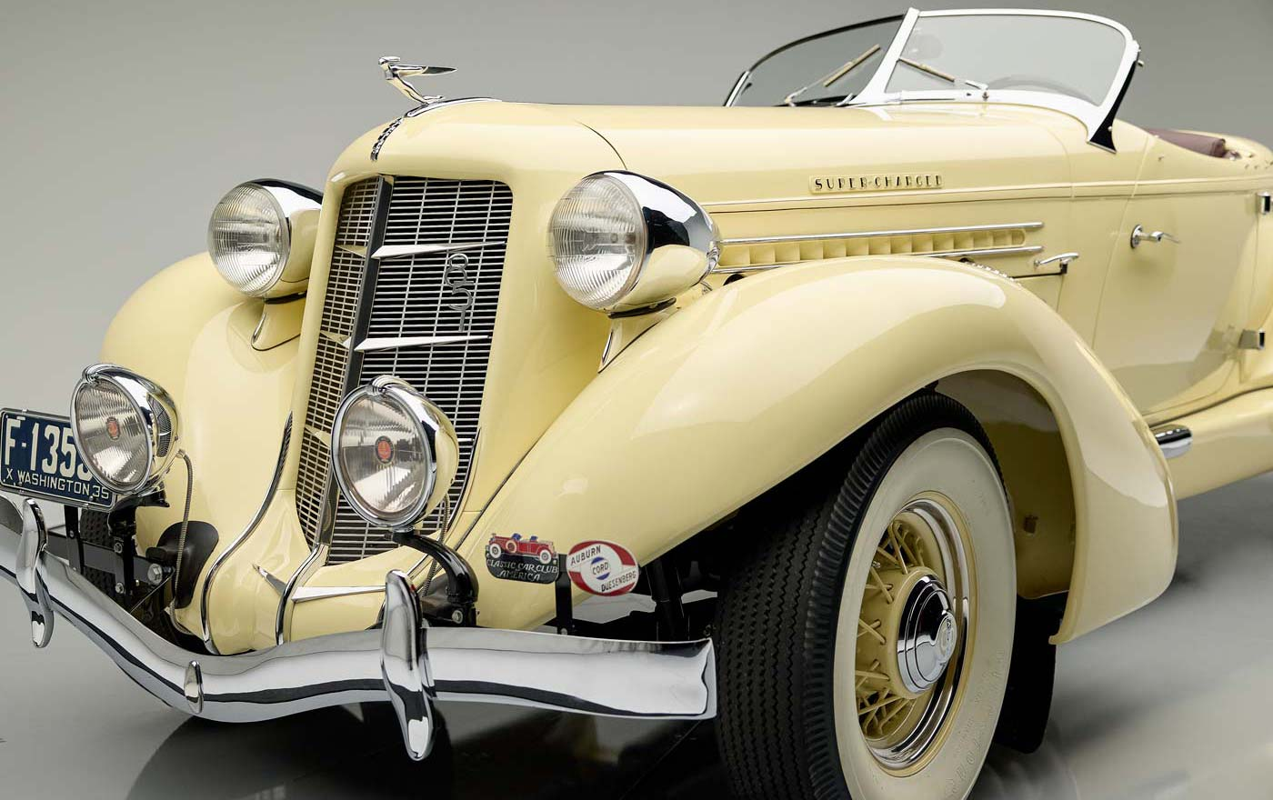 1935 Auburn Supercharged - The JBS Collection Blog