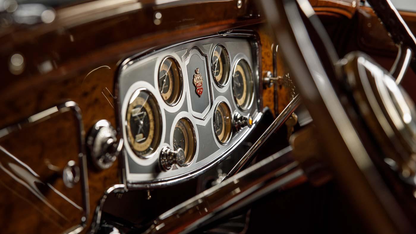1934 Packard Twelve 1107 Convertible Victoria - The JBS Collection Blog